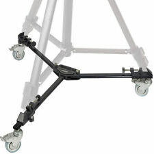 Universal Heavy Duty Folding 3 Wheels Slider Tripod Dolly For Camera Video Stand