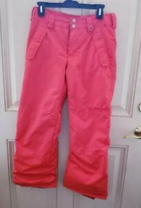 Burton Orange  Dry Ride Ski Snow Pants Junior Large