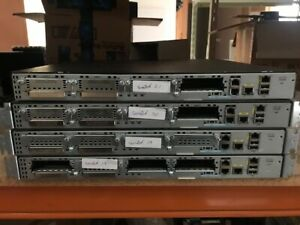 CISCO 2901 INTEGRATED SERVICES ROUTER MODEL: CISCO2901/K9 V05 WITH EARS