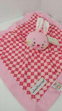 Baby Ganz wheatberries Pink Bunny Baby Security Blanket Mini Blankie