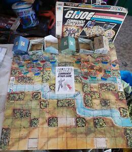 Vintage G.I.Joe Commando Attack game (1985) Milton Bradley
