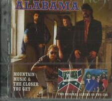 Alabama - Mountain Music & The Closer You Get ( CD ) NEW / SEALED