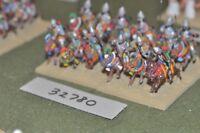 25mm biblical / assyrian - heavy 12 figures - cav (32780)