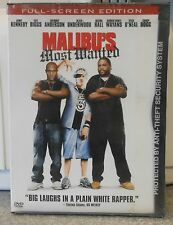 Malibus Most Wanted (DVD, 2003 FULL SCREEN) RARE COMEDY BRAND NEW
