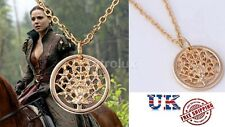 Once Upon a Time Character Young Regina Gold Tree of Life Necklace - BRAND NEW