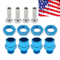 New 12mm to 17mm Wheel Hex Hub Conversion Adapter for 1/10 RC Car Upgrade Parts