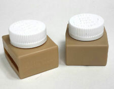 The Original Buckle Guard Seat Belt Button Cover, tan, 2 pack, Free Shipping!
