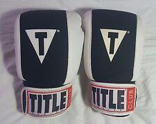 Title Boxing Club Gel Enforced Lining Gloves Size Medium