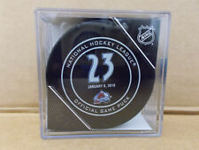 Colorado Avalanche Official Retirement Game Puck CUBED #23 Milan Hejduk