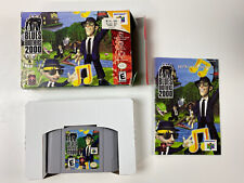 Nintendo 64 N64 Blues Brothers 2000 CIB Complete in Box EUC collectors Tested