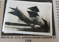 1933 Zeppelin Weltfahrten Cigarette Card German V1 Photo 8 LZ3 1906