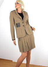 Einreihige Damen-Anzüge & -Kombinationen im Kostüm-Stil mit Jacket/Blazer für Mini