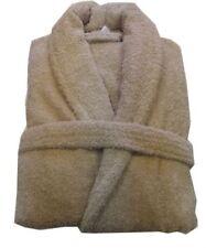 Serviettes, draps et gants de salle de bain peignoirs beige coton