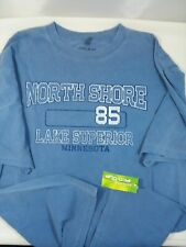 North Shore Lake Superior Minnesota Short Sleeve Graphic Souvenir T Shirt Large