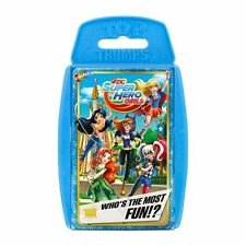 TOP TRUMPS DC COMICS SUPER HERO GIRLS GAME BRAND NEW