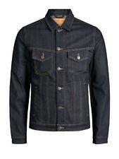 Jack&Jones Hombre Cazadora chaqueta Azul larga 20757-60