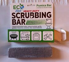 6 EcoBest PUMICE SCOURING STONE/BLOCK clean bathroom kitchen tools grills NEW