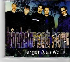 (FK704) Back Street Boys, Larger Than Life - 1999 CD
