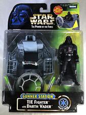 Star Wars Mission Frota Darth Vader Tie Fighter avançada Nova Na Caixa