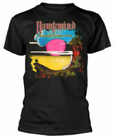Official Hawkwind T Shirt Warrior Black Mens Unisex Classic Rock Metal Tee New