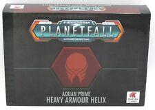 Planetfall PFAP02 Aquan Prime Heavy Armour Helix (Box Set) Spartan Games Armor
