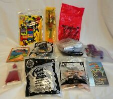 Sealed Assorted Lot Fast Food Kid'S Meal Cereal Toys Mcdonalds, Wendys, Taco Bel