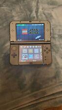 Nintendo 3DS XL Handheld Console Bundle - Gray - Good Condition - 4 Games & Case