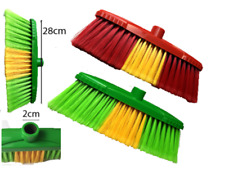 PVC Bristle Broom brush head hard OR Soft floor For home,takeaway shops