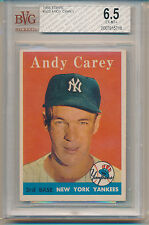 1958 Topps Andy Carey (#333) BVG6.5 BVG