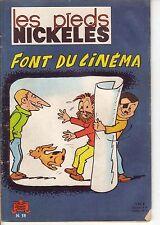 les pieds nickelés 58 font du cinéma Jeunesse Joyeuse SPE  1965  E.O.