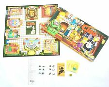 The Simpsons CLUE Board Game Detective Game 100% Complete Collectible Tokens