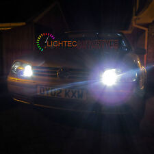 PAIR XENON PURE COOL WHITE HIGH POWER SMD LED SIDELIGHT SIDE LIGHT T10 501 W5W