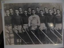 1919 YALE HOCKEY TEAM ENLARGED 16 X 20 PHOTO, NEW HAVEN, CONNECTICUT