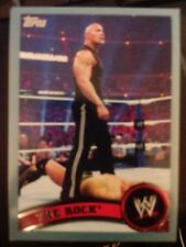 2011 Topps WWE Wrestling BLUE #82 The Rock #d 1720/2011