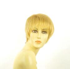 Perruque femme courte blond clair doré LOUISE LG26