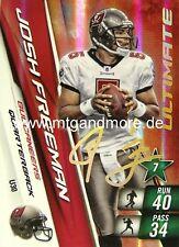 Adrenalyn XL NFL - Josh Freeman - Buccaneers - #30 Ult