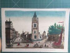 Antique (Pre-1900) Etching History Art Prints