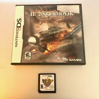 Nintendo DS lot of 2 games - IL 2 STURMOVIK & Harvest Moon - FREE S&H