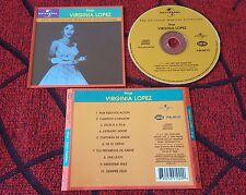 Latin Soul VIRGINIA LOPEZ *** Sings *** RARE COVER CD 2000 Venezuela