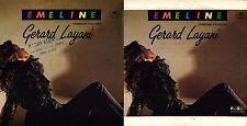 DISCO 45 GIRI    GERARD LAYANI - EMELINE (Versioni Italiana e Francese)