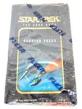 1S FLEER STAR TREK The Card Game Wax Box 36 Booster Packs SEALED