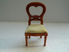 (H6) DOLLS HOUSE WOODEN BOW BACK CHAIR