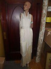 STUNNING, vintage Lilli Diamond fringe, formal/wedding dress. NWT. NOS!! ON SALE