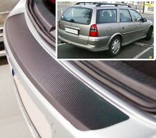 Vauxhall/Opel Vectra B Estate - Carbon Style rear Bumper Protector
