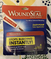 NEW! Stop Bleeding Instantly WoundSeal Powder