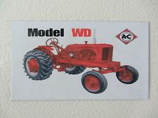 ALLIS CHALMERS WD WF Fridge/tool box magnet