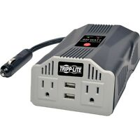 Tripp Lite Powerverter Ultra Compact Car Inverter With Outlets - (pv400usb)