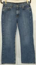 LUCKY BRAND DUNGAREE JEANS size 10 / 30