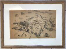Jean LOMBARD (1895-1983)- Aix-en-Provence-CEZANNE-Avignon-Sainte Victoire-Paris