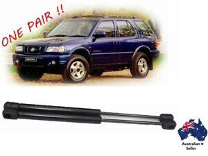 Holden Frontera Window Gas Struts UE MX models 1999 to 2004 3 & 5 door New PAIR